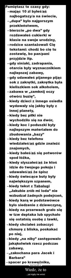 Stylowi.pl - Odkrywaj, kolekcjonuj, kupuj Wtf Funny, Funny Memes, Words Of Wisdom Quotes, Life Motivation, Mood Quotes, Funny Signs, Best Memes, True Stories, Life Lessons
