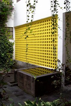 The Entrance The Plan The Pool and the Modular Concrete Screen Patio Steps to the Chapel All Photos by Ignacio J. Detail Architecture, Brick Architecture, Interior Architecture, Garden Architecture, Design Exterior, Interior And Exterior, Landscape Design, Garden Design, House Design