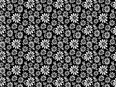 28 best floral print black white images on pinterest floral 018 floral print black white mightylinksfo