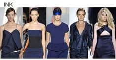 SS13 Fashion Color Trends Ink