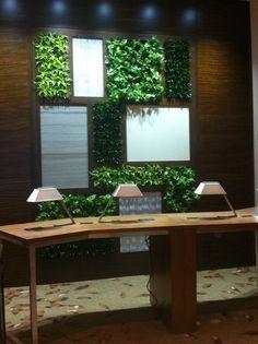 Vertical Garden designed by Ambius in luxury hotel.