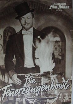 Die Feuerzangenbowle  Heinz Rühmann: