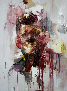 "South African artist Ryan Hewett looks straight to the core of his subjects in boldly expressive paintings. For his upcoming exhibition ""Untitled"" at the Unit London, opening April Abstract Portrait, Portrait Art, Ryan Hewitt, Painting Inspiration, Art Inspo, South African Artists, Portraits, Art Sketchbook, Urban Art"