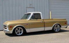 1968 Chevy with Torq Thrust II wheels 1968 Chevy Truck, Classic Chevy Trucks, Chevy C10, Chevy Pickups, Chevrolet Trucks, Chevy Classic, 1957 Chevrolet, Chevrolet Impala, C10 Trucks