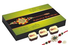 Buy rakhi online with chocolates, best gift for sister & brother.Rakhi gift for brother - 12 Chocolate Gift Box - Special Gift for Rakhi with Rakhi Rakhi For Brother, Rakhi Gifts For Sister, Sister Gifts, Buy Rakhi Online, Best Gift For Sister, Chocolate Gift Boxes, Raksha Bandhan, Special Gifts, Best Gifts