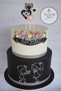 tastefully yours cake art | Will you marry me? - Cake by Marianne Bartuccelli : Tastefully Yours ...