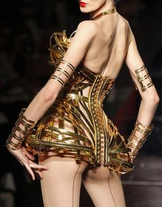 Jean Paul Gaultier Fall 2012 Couture Collection #gold #fashion @Jean Paul Gaultier