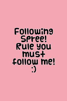 Please help me get a lot Love you guys I Love You All, Let It Be, Follow Spree, Amanda, I Need U, Chat Board, Please Help Me, Follow You, Im Trying