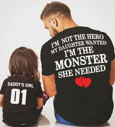 New Ideas Baby And Daddy Clothes Kids Daddy Daughter Quotes, Dad Daughter, Father Daughter Shirts, Mother Daughters, Daughter Tattoos, Dad Quotes, Best Quotes, Life Quotes, Child Quotes