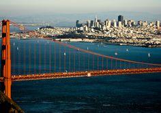 São Francisco e Ponte Golden Gate, Califórnia, USA.  - Wikipédia, a Enciclopédia Livre
