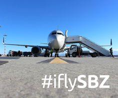 Aeroportul Internaţional Sibiu a înregistrat o creştere de 28 % faţă de anul precedent