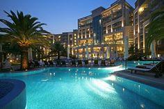 Hotel Splendid in Budva, Montenegro: site of 007 movie casino royale filmed