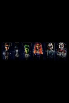 Looking for some cool posters from your favorite DC series Titans? Check out the fantastic collection of Titans poster. Teen Titans Go, Young Justice, Wallpaper Memes, Titans Tv Series, Ryan Potter, Free Poster Printables, Dc Comics Heroes, Beast Boy, Comedy Movies