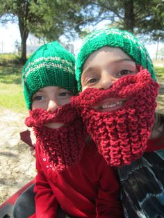Youth or Toddler childrens beard hat beard hat by Ritaknitsall, $25.00