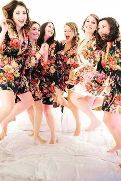 36 Must Take Wedding Photos With Your Bridesmaids ❤ See more: http://www.weddingforward.com/must-take-wedding-photos-with-bridesmaids/ #weddings #photos