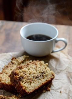 Pomegranate Molasses Coffee Cake