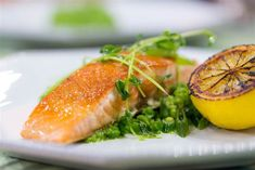 TODAY Show: Chef Billy Dec prepares the perfect spring meal: wild salmon with mashed peas and herbs. -- March 25, 2015