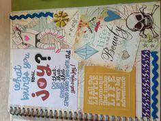 Katie's smash book page 14.
