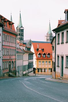 As encantadoras casas de tons pastel de Bamberg, na Alemanha