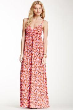 Splendid Sleeveless Floral Maxi Dress by Non Specific on @HauteLook