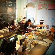 Cafe Tiesan in Portobello Dublin breakfast great coffee pastries lunch & aperitivo