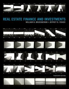 Real Estate Finance & Investments (Real Estate « LibraryUserGroup.com – The Library of Library User Group