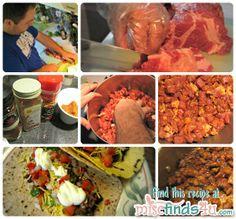 Quick and Easy Mild Pork Carnitas Tacos