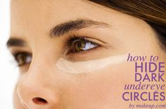 expert tips on how to hide dark undereye circles