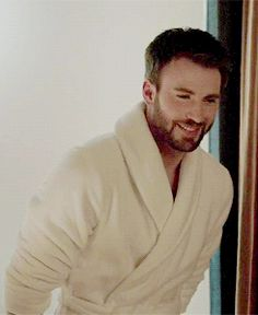 Chris Evans gosh he's beautiful