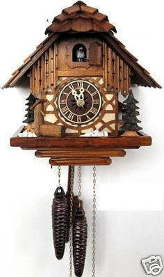 Bavarian cuckoo clock...  #followitfindit