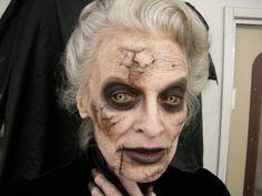 Halloween Makeup : Costume Makeup: The Witch Mary Shaw by Witch Makeup, Scary Makeup, Sfx Makeup, Costume Makeup, Makeup Looks, Halloween Face Makeup, Zombie Makeup, Maquillaje Halloween Tutorial, Horror Make-up
