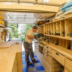 Woodshop on Wheels: Ron Paulk on the Design of His Mobile Woodshop, Part 1