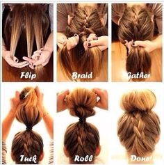 Miraculous Super Easy Hair Tutorial Braids Things I Love Pinterest Hairstyle Inspiration Daily Dogsangcom