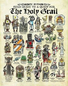Monty Python Field Guide to a Quest for the Holy Grail