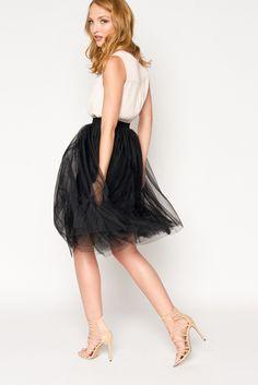 Tulle Skirt - Black