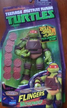 Teenage Mutant Ninja Turtles- Michelangelo Action Figure #PlaymatesToys