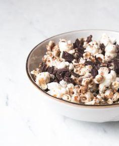 Popkorn in Kokosöl - Karamell und Schoko