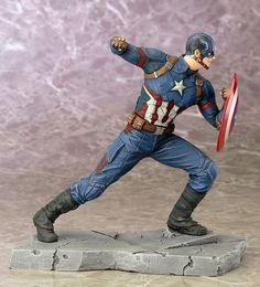 MegaOtaku - ARTFX+ Captain America Civil War CAPITÁN AMÉRICA