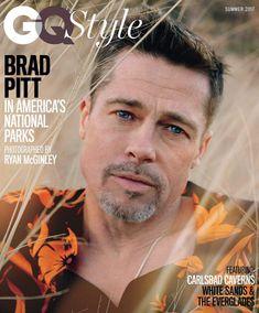 edb5b4f0fb Brad Pitt In America s National Parks Magazine Covers