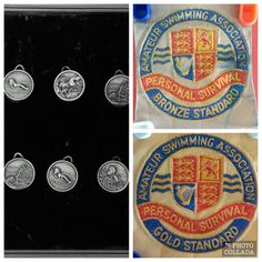 A Collection of Swimming Silver Medals and Amateur Swimming Association Patches in Sports Memorabilia, More Sports Memorabilia, Swimming Memorabilia | eBay!