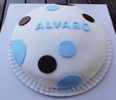 Tarta de cumpleaños de Alvaro.