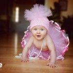 Pink tutu baby.