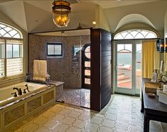 Coastal Bathroom. THis is a classic real coastal bathroom. #Bathroom #Coastal