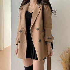 Korean Fashion Dress, Ulzzang Fashion, Kpop Fashion Outfits, Girls Fashion Clothes, Edgy Outfits, Korean Outfits, Mode Outfits, Retro Outfits, Cute Casual Outfits