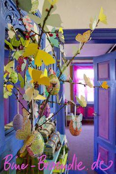 Bine Brändle: Frühlingsdeko mit Schmetterlingen