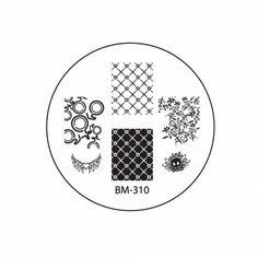 2012 Collections Nail Stamping Plates BM-310