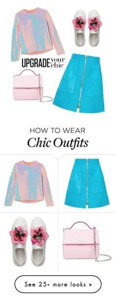 Designer Clothes, Shoes & Bags for Women Chic Outfits, Diane Von Furstenberg, New Look, Givenchy, Girly, Skirts, Polyvore, How To Wear, Stuff To Buy