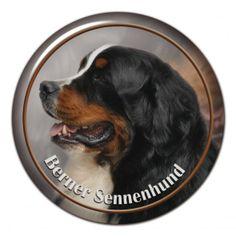 Berner Sennenhund 3D sticker - #bernersennenhund #bernesemountaindog #bernesdelamontana #boyerodeberna