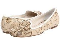 $108 Cole Haan Air Morgan Cream Snake Woman at https://shopsto.re/items/3281 #shoes #flats