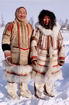 The Nganasans are an indigenous Samoyedic people inhabiting the Taymyr Peninsula in north Siberia. In the Russian Federation, they are recognized as being one of the Indigenous peoples of the Russian North.